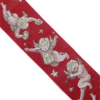Cubrecosturas angeles rojo