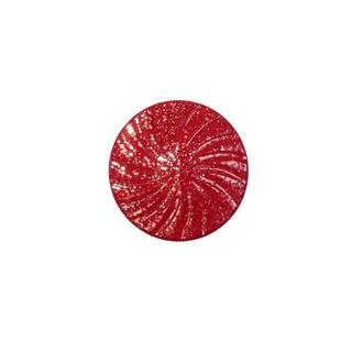 "Boton espiral+lame 28""rojo"