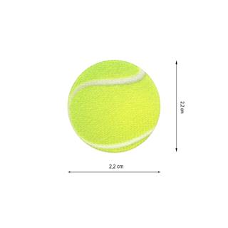Parche tejido pelota tenis