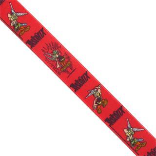 Cinta elast.25mm.asterix rojo