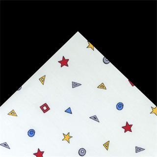 Tela popelin geometricos 50x45