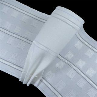 Cinta cortina globo blanco