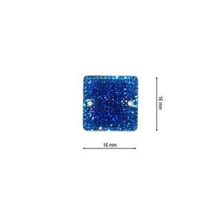 Piedra ice cuadrado 16 azulon
