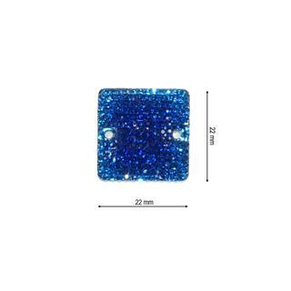 Piedra ice cuadrado 22 azulon