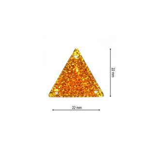 Piedra ice triangulo 22 naranj