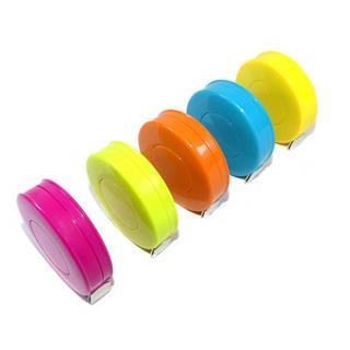 Cinta metrica enrollable color