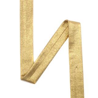 Bies elast.metalizado oro 20mm