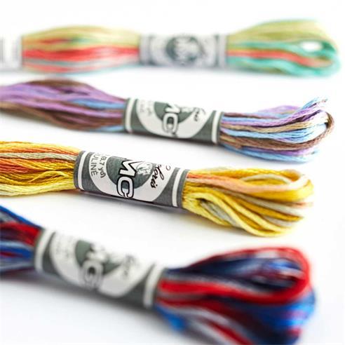 Madejas mouline 4500 coloris