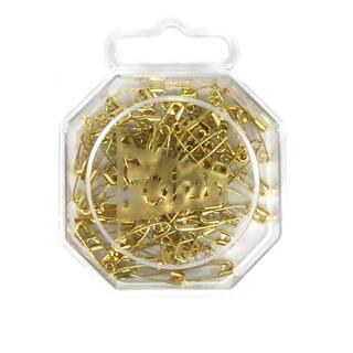 Caja imperdib.19mm.dorado/85un