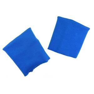 Puños elasticos algodon azulon