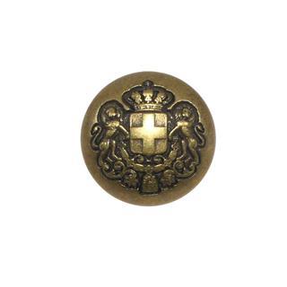 Boton metal escudo cruzleon 32