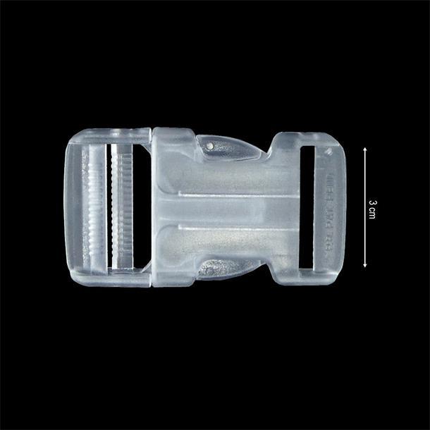Broche mochila 30mm.transparen