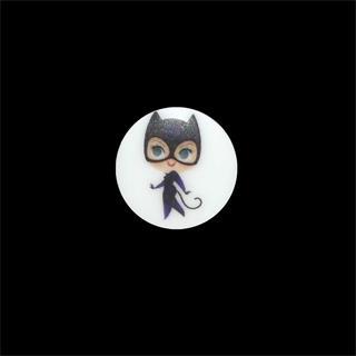 Boton infantil catwoman
