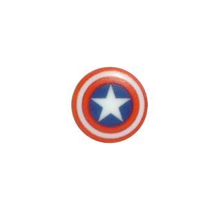 Boton escudo capitan amarica