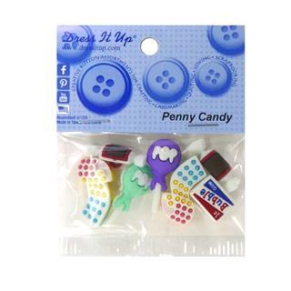 Kit botones 7uni.penny candy