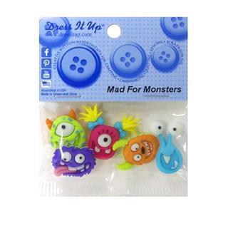 Kit botones 5uni.mad for monst
