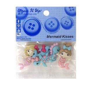 Kit botones 5uni.mermaid kisse