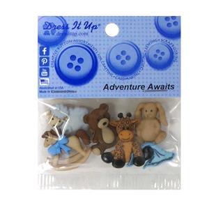 Kit botones 5uni.advent.awaits