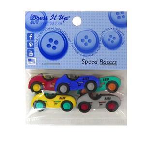 Kit botones 5uni.speed racers