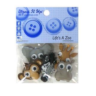 Kit botones 5uni.life,s a zoo