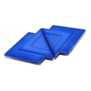 Broche inyecc.triangulo azulon