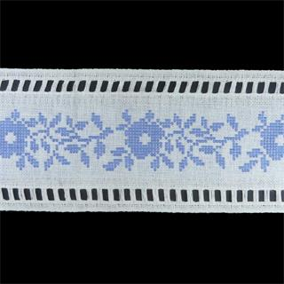 Cubre hilo cenefa p.cruz azul