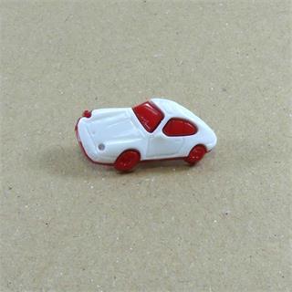 Boton infantil coche rojo
