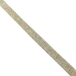 Cinta lame beig oro 1cm.