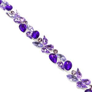 Galon cristal lilas