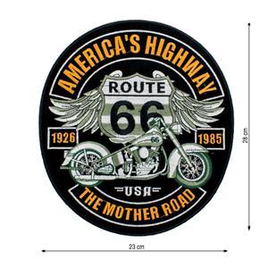 Parche route 66 america,s high