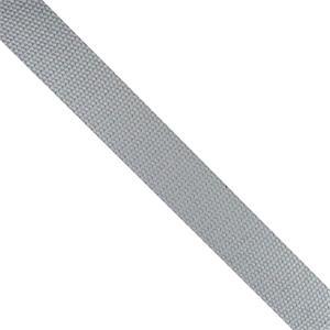 Cinta mochila algodon 25mm.gri
