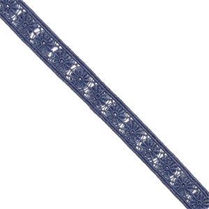 Entredos guipur fivrolit.azul