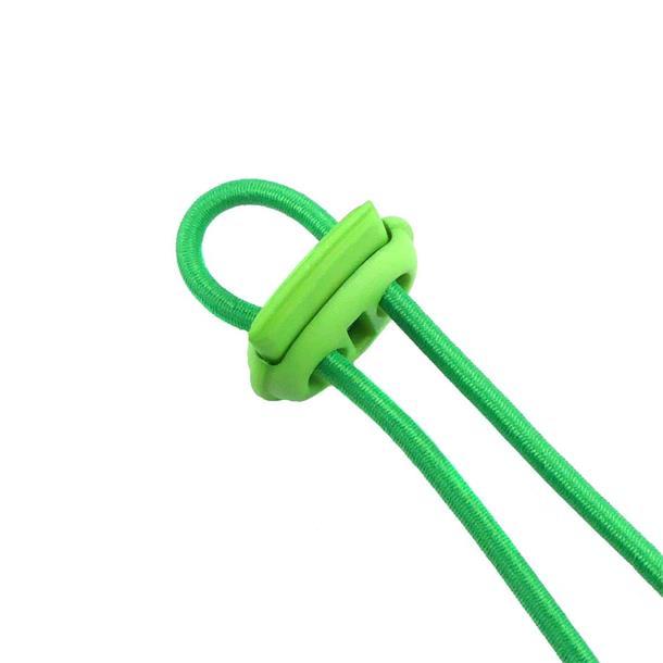 Cierre cordon plano doble verd