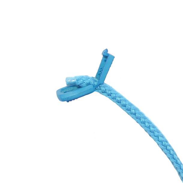 Tope cordon plano azul