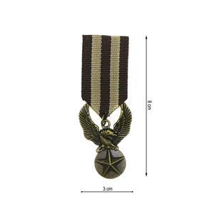 Broche medalla aguila star mrr