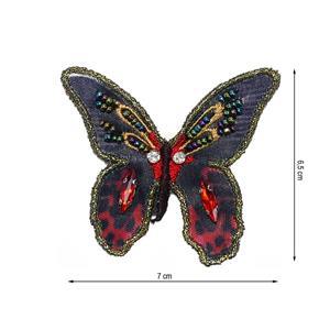 Parche mariposa+abalorios rj+n