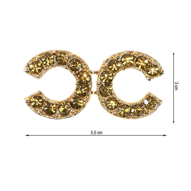 Broche fantasia chanel oro