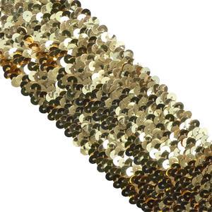 Lentejuela elasti.090 mm. oro