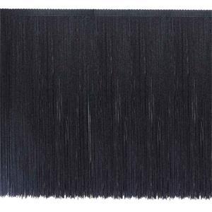 Fleco cuquillo 40 cm. negro