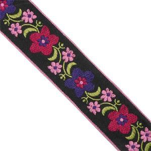 Cubrec.bord.flor rosa+fuxia+mo