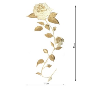Aplicacion bord.flor beig