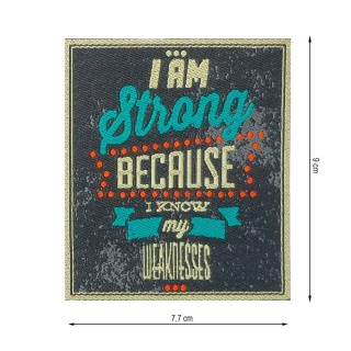 Parche i am strong because