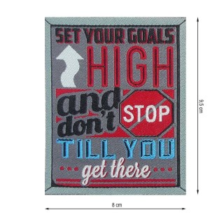 Parche high /  till you