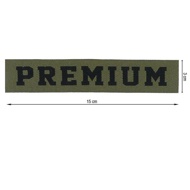 Parche tejido termo premium