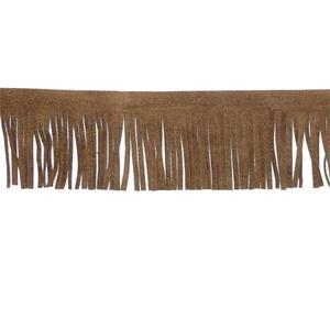 Fleco antelina 5 cm. marron