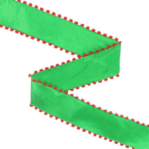 Cinta nylon+madroño verde+rojo