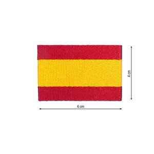 Parche bandera españa 6x4cm.
