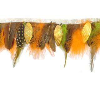 Fleco plumas combinado+nacar