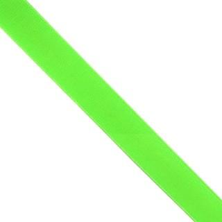 Goma elastica 25mm.fluor verde