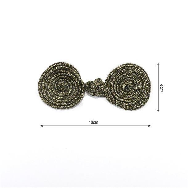 Alamar metalizado 40x100 orovj
